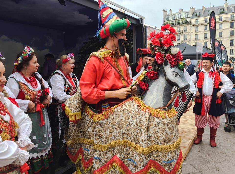 Fiesta del Lajkonik en Cracovia