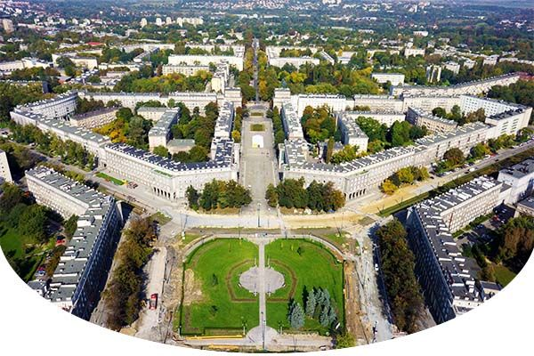 Nowa Huta - La ciudad ideal utópica comunista