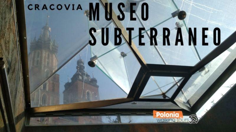 Presentación Interior de museo subterráneo de Cracovia