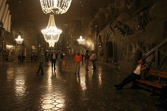 Capilla en el interior de las Minas de Sal de Wieliczka